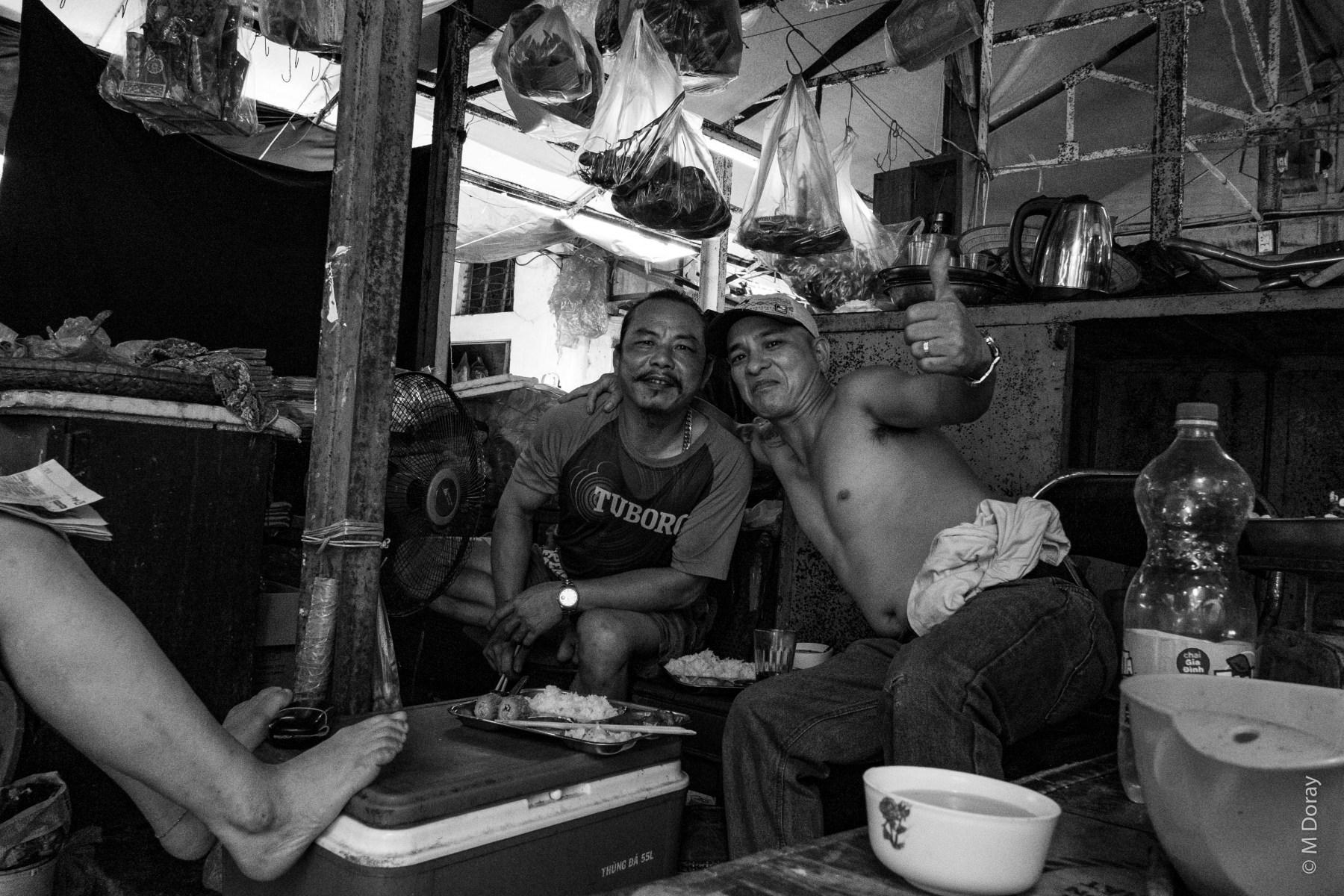 Market Drinkers Hanoi
